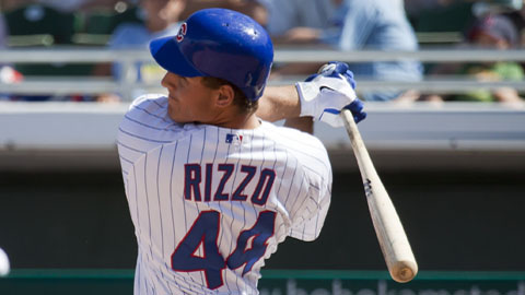 Anthony Rizzo ranks among the PCL leaders in homers, RBIs and total bases.