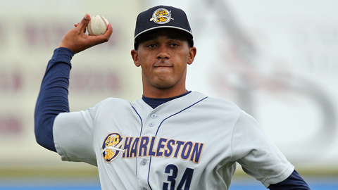 Jose Campos has posted a 0.56 ERA through three starts this season.