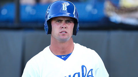 Bubba Starling continues to improve his game with the Burlington Royals.