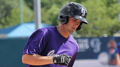 David Dahl has recorded multiple hits in 28 of 57 games this season.