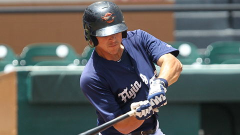 Hernan Perez is second in the FSL with three extra-base hits in the playoffs.