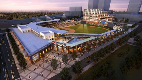 Friday's groundbreaking in Charlotte is the first step toward making this rendering reality.